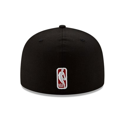 Chicago Bulls 100 Year Black 59FIFTY Cap