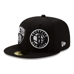 59FIFTY – 100 Year – Brooklyn Nets – Schwarz