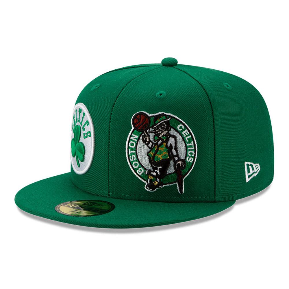 Gorra Boston Celtics 100 años 59FIFTY, verde