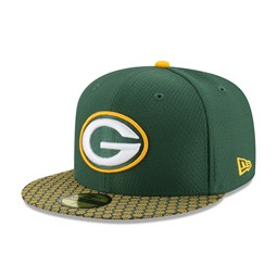 Green Bay Packers 2017 Sideline Green 59FIFTY