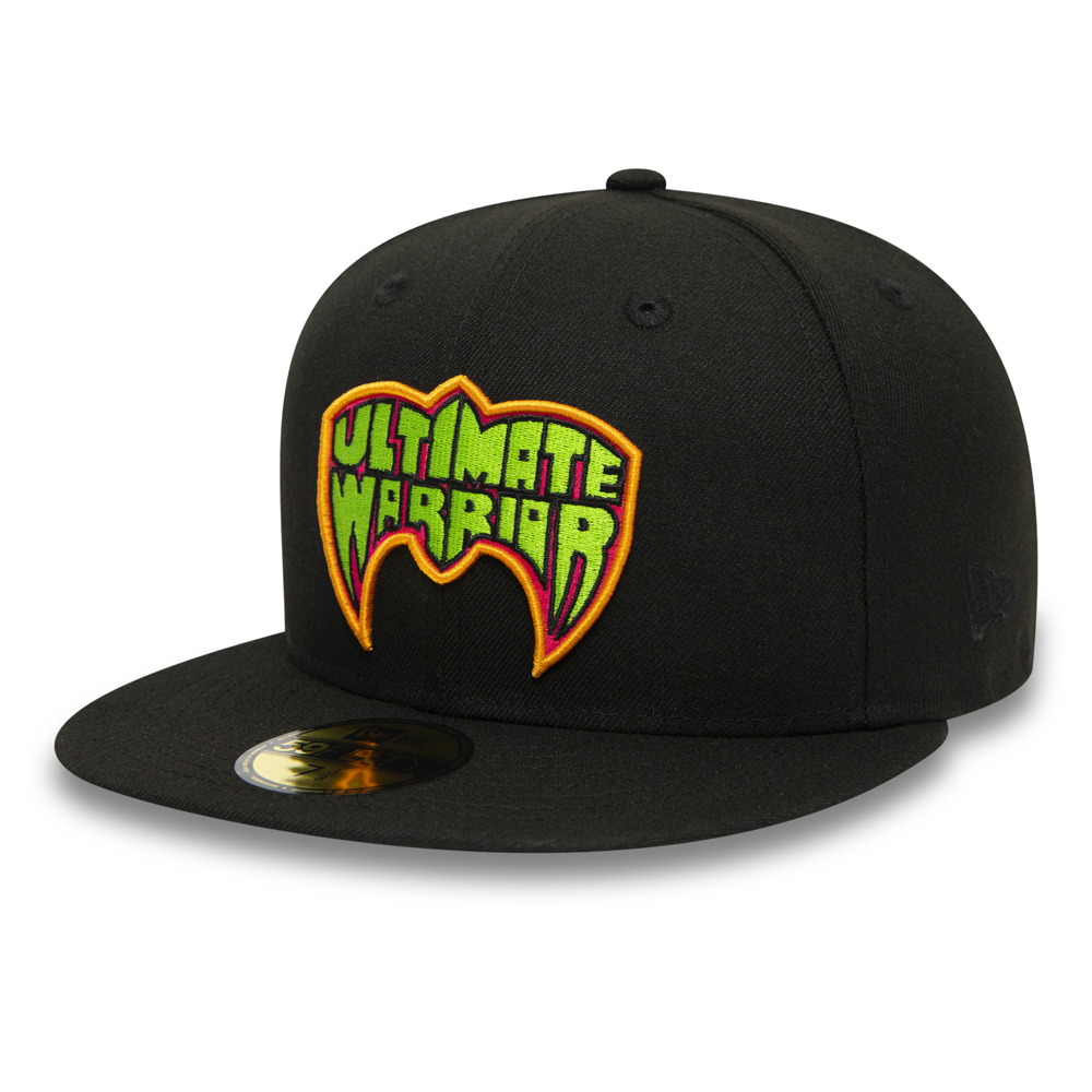 Ultimate Warrior WWE Black 59FIFTY Cap