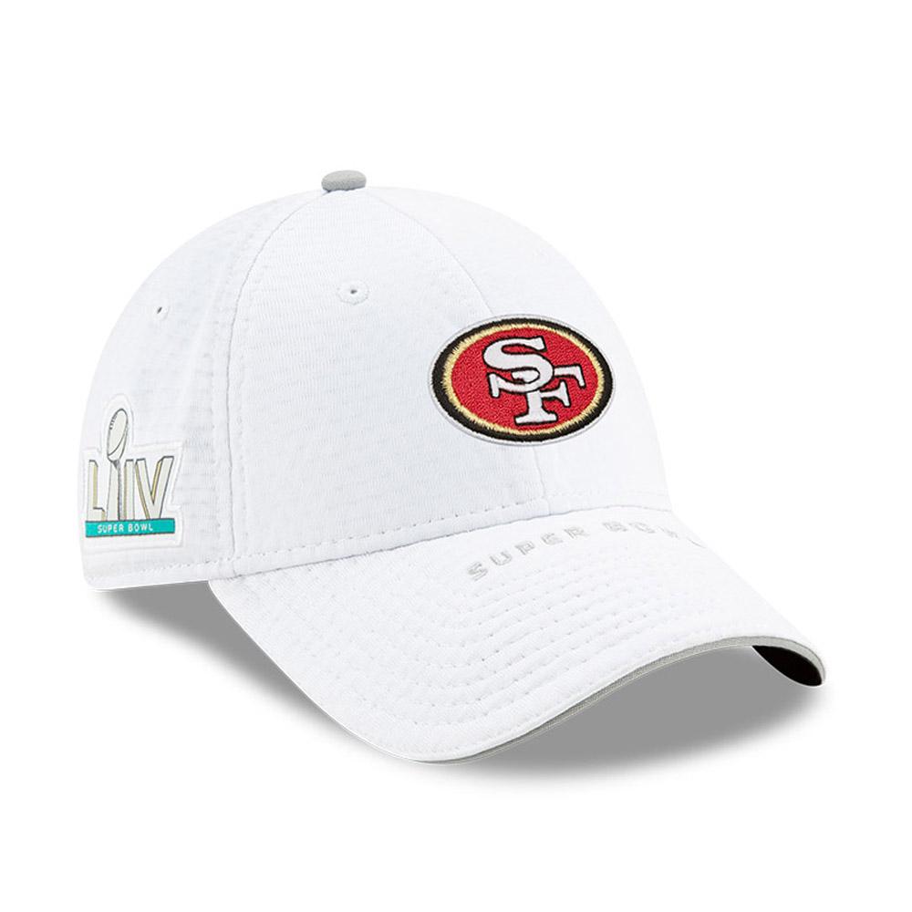 Cappellino 9FORTY Super Bowl 2020 Sideline elasticizzato e con chiusura posteriore dei San Francisco 49ERS