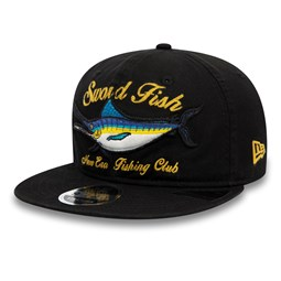 New Era Fishing Club Black 9FIFTY Cap