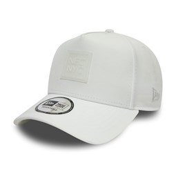 New Era NYC Clear Badge White A-Frame Trucker