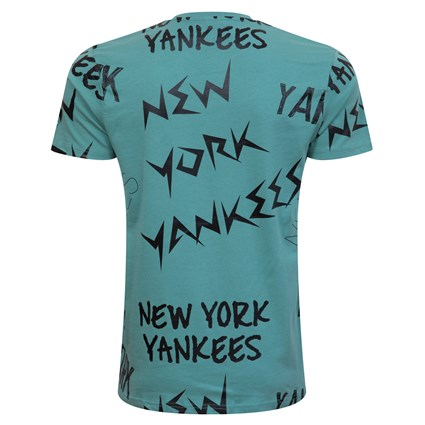 New York Yankees Repeat Wordmark Brown T-Shirt
