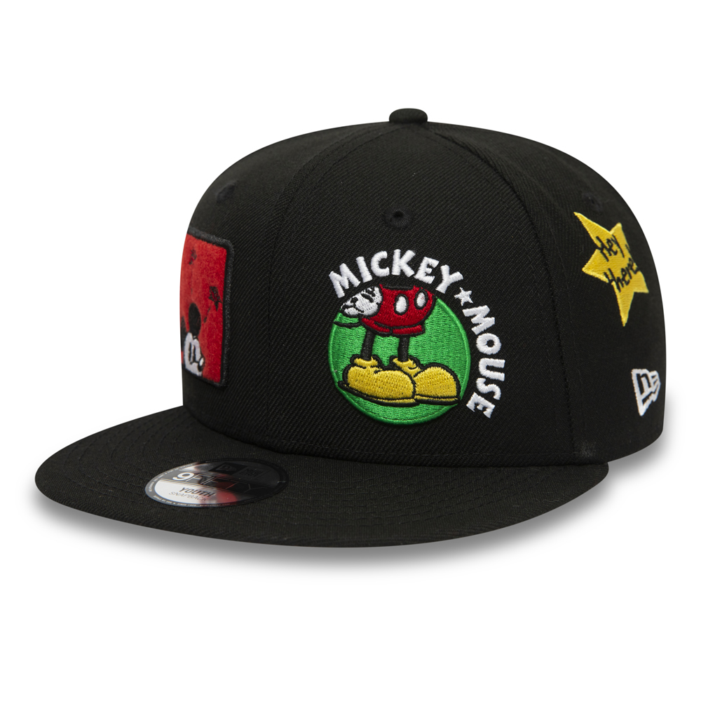 Gorra Mickey Mouse True Original 9FIFTY, niño, negro