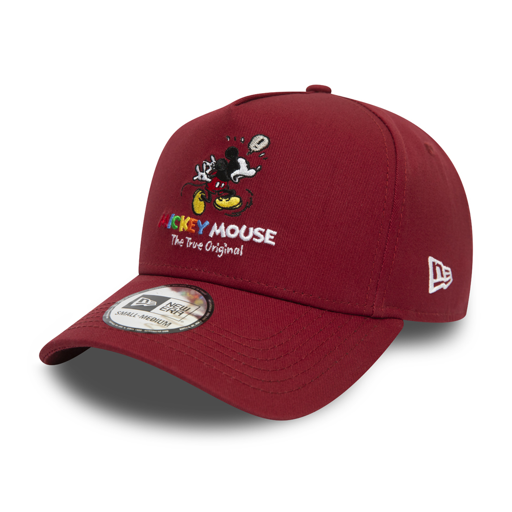 Gorra K Frame Mickey Mouse True Original 9FORTY, rojo