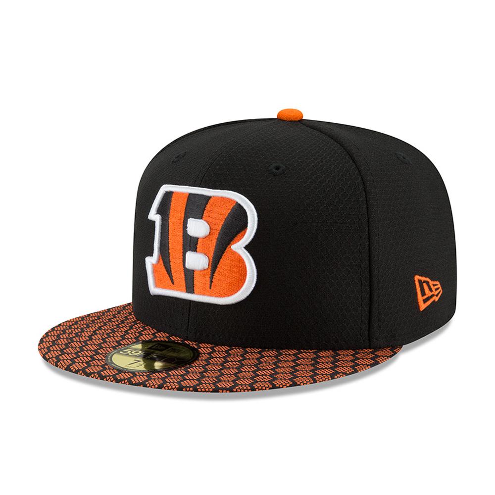Cincinnati Bengals 2017 Sideline 59FIFTY nero