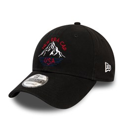 Gorra New Era Washed 9TWENTY, negro