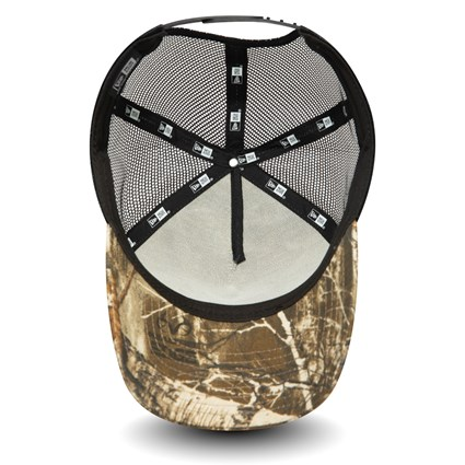New Era Woodland Camo A-Frame Trucker