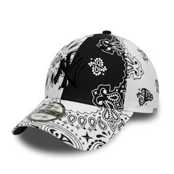 Gorra New York Yankees Paisley 9FORTY, negro