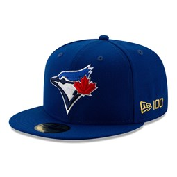 Toronto Blue Jays MLB 100 Blue 59FIFTY Cap