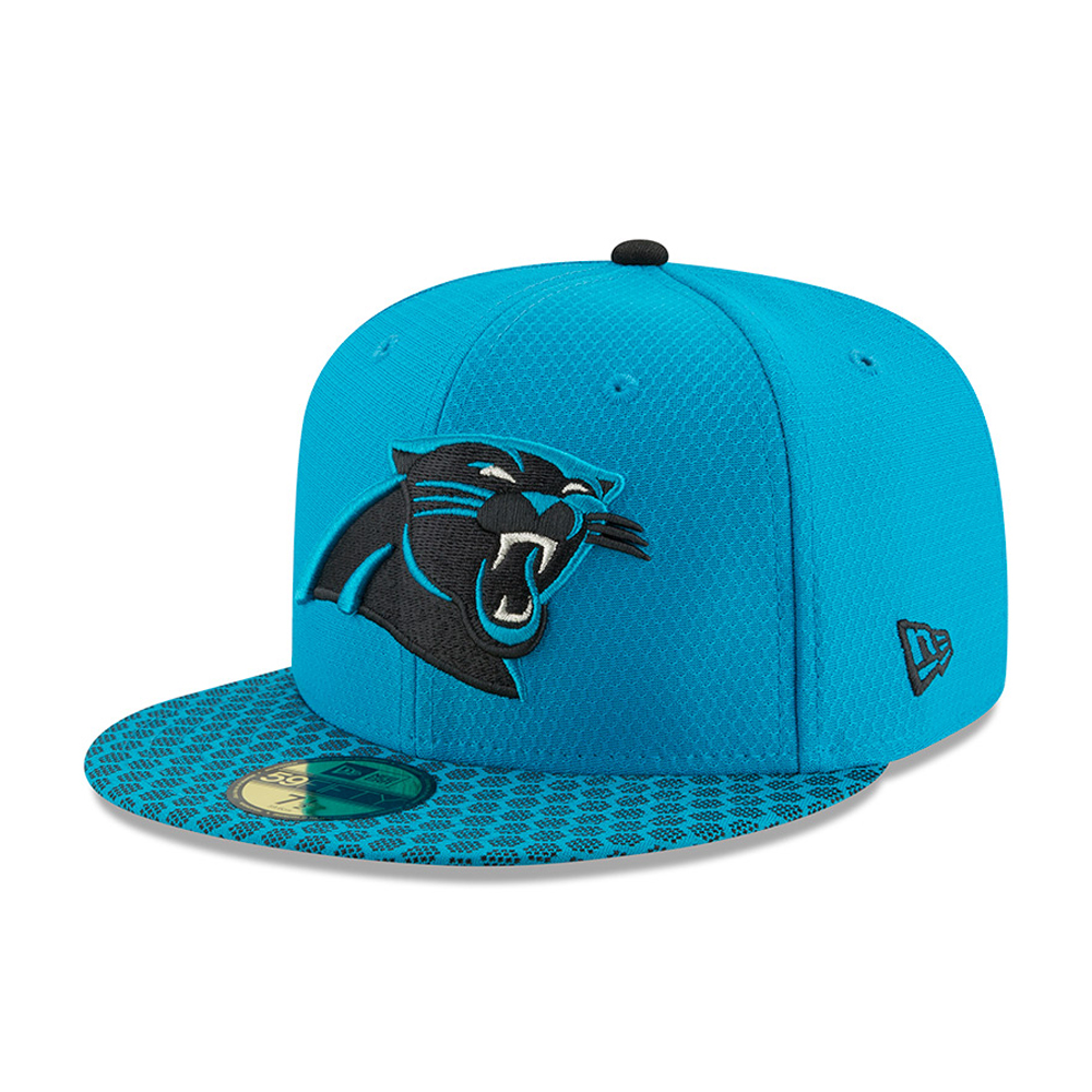 59FIFTY – Carolina Panthers – 2017 Sideline, Blau
