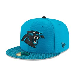 Carolina Panthers 2017 Sideline Blue 59FIFTY