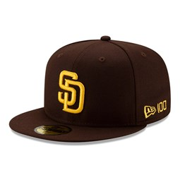 San Diego Padres MLB 100 Brown 59FIFTY Cap