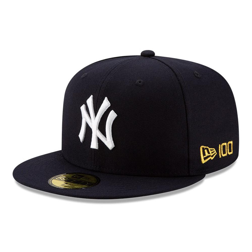 Casquette MLB 100 bleu marine 59FIFTY des Yankees de New York