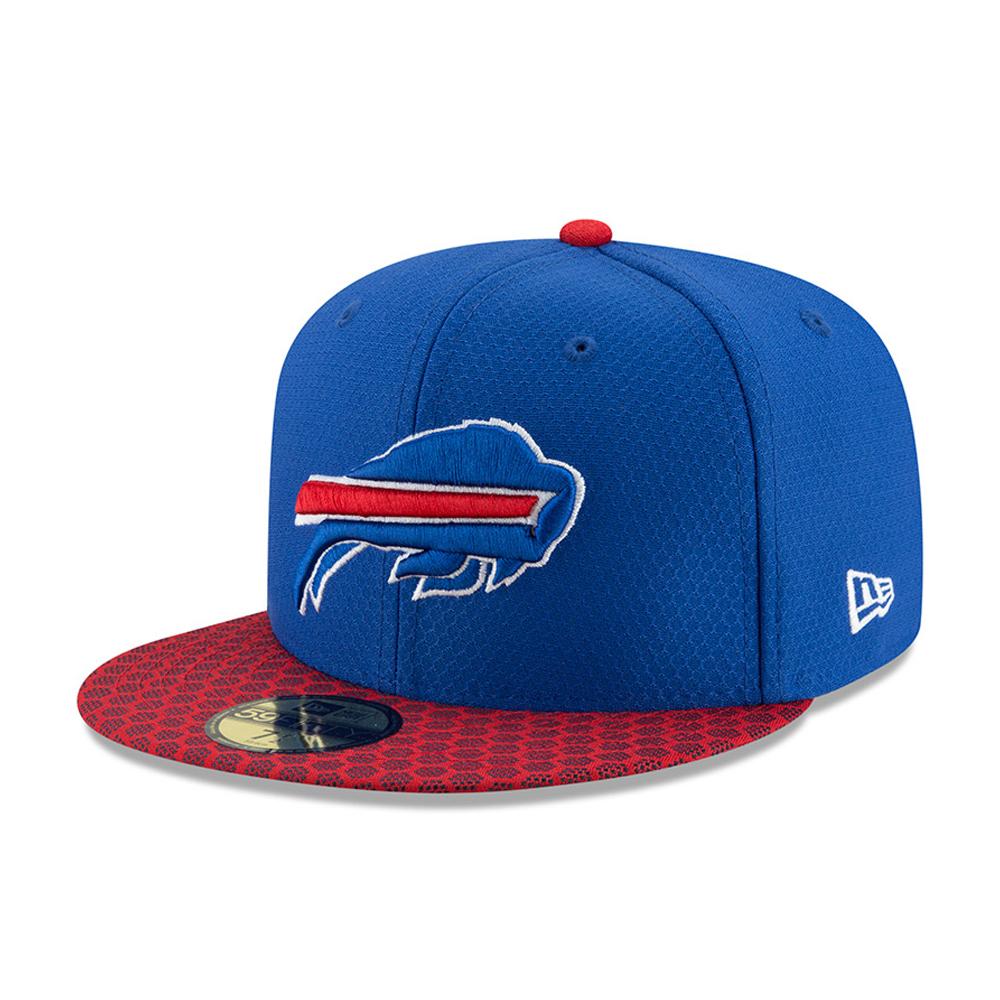 Buffalo Bills 2017 Sideline 59FIFTY bleu