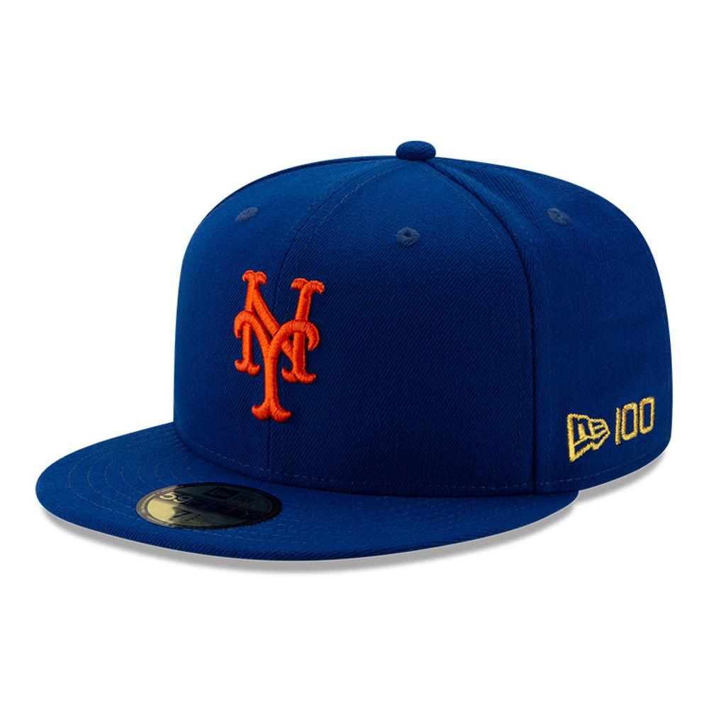 59FIFTY – New York Mets – MLB 100 – Kappe in Blau