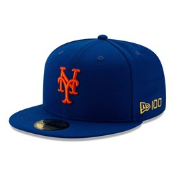 New York Mets MLB 100 Blue 59FIFTY Cap