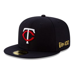 Minnesota Twins MLB 100 Navy 59FIFTY Cap