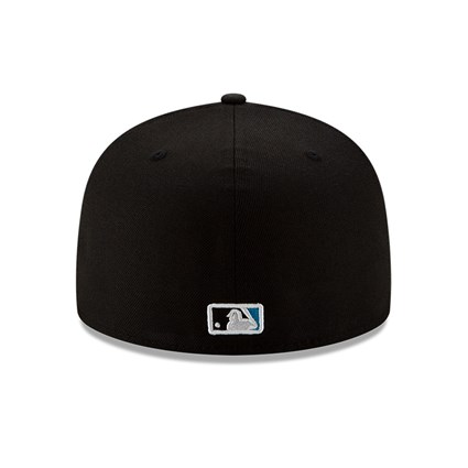 Miami Marlins MLB 100 Black 59FIFTY Cap