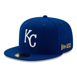 59FIFTY – Kansas City Royals – MLB 100 – Kappe in Blau