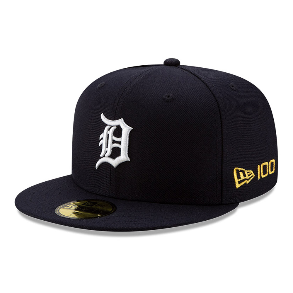 59FIFTY – Detroit Tigers – MLB 100 – Kappe in Marineblau