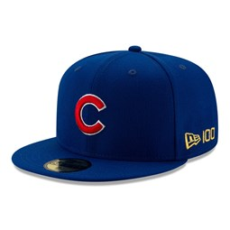 Chicago Cubs MLB 100 Blue 59FIFTY Cap