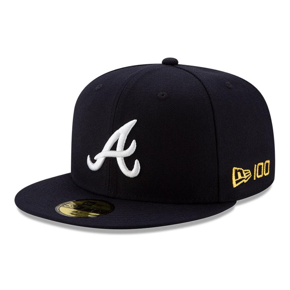 Cappellino 59FIFTY MLB 100 degli Atlanta Braves