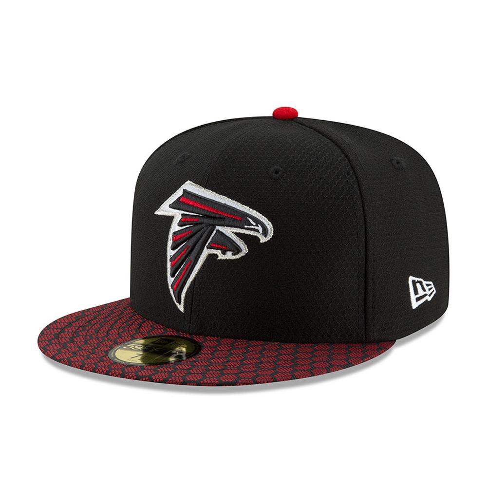 59FIFTY – Atlanta Falcons – 2017 Sideline, Schwarz