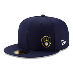 Milwaukee Brewers Team Colour Flawless 59FIFTY Fitted Cap