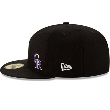 Colorado Rockies Team Colour Flawless 59FIFTY Fitted Cap