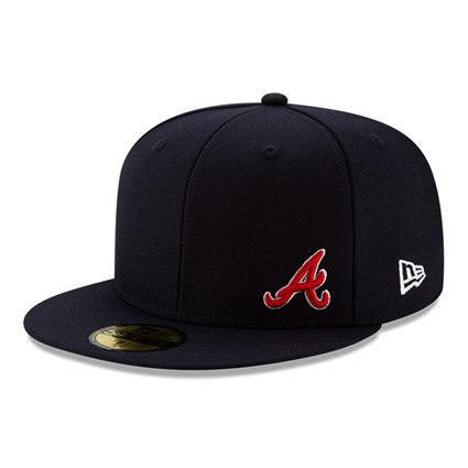 Atlanta Braves Team Colour Flawless 59FIFTY Fitted Cap