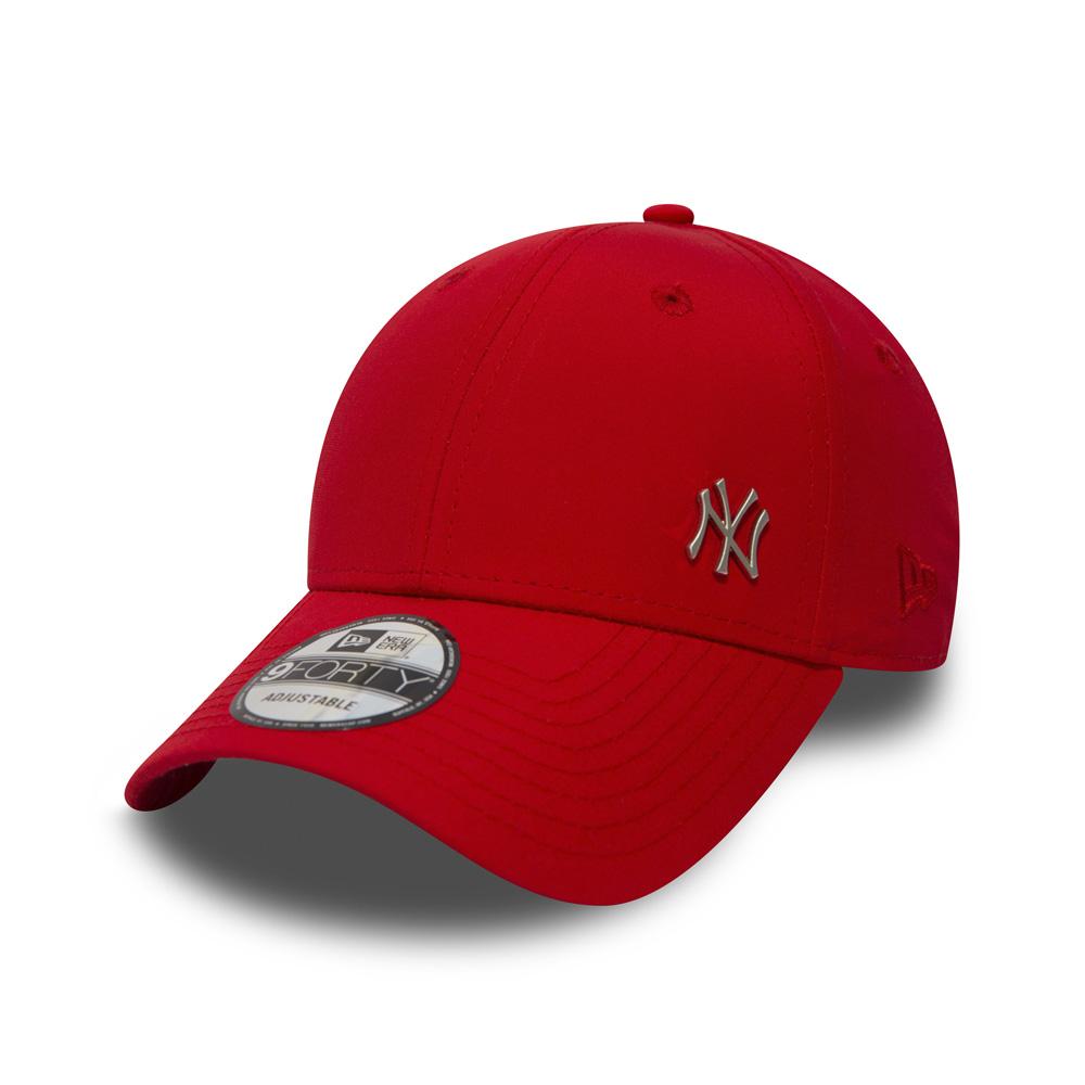 Casquette avec un mini-écusson en métal des New York Yankees9FORTY rouge