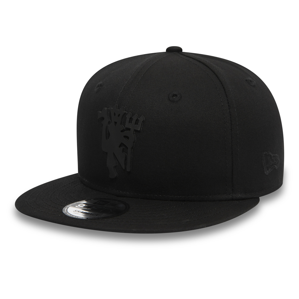 Manchester United 9FIFTY-Kappe in Schwarz