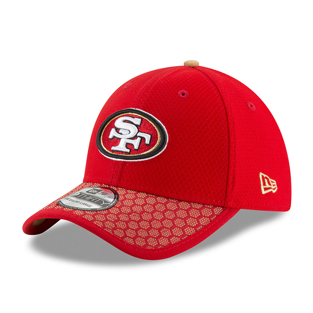 San Francisco 49ers 2017 Sideline Red 39THIRTY
