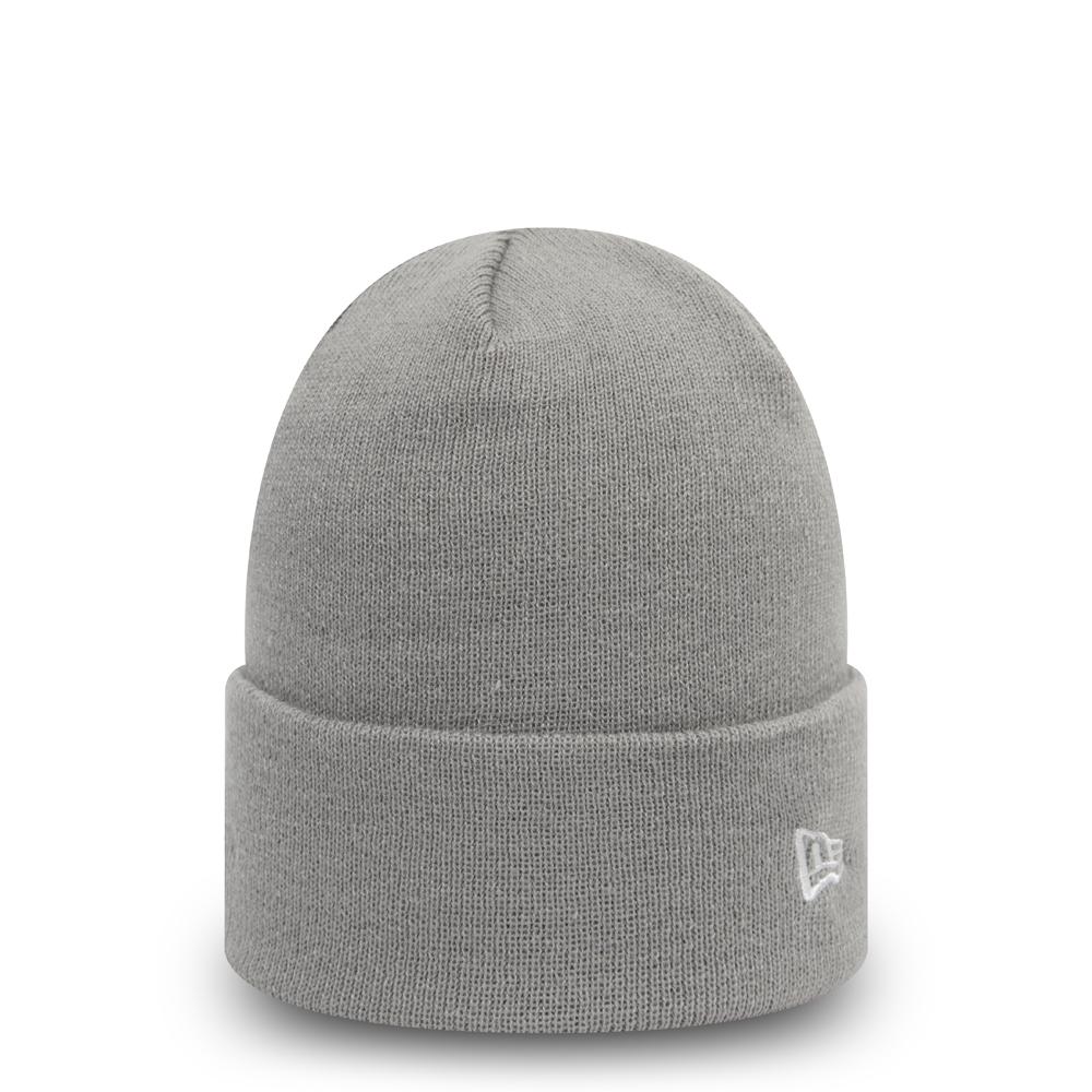 New Era Essential Cuff – Beanie in Grau