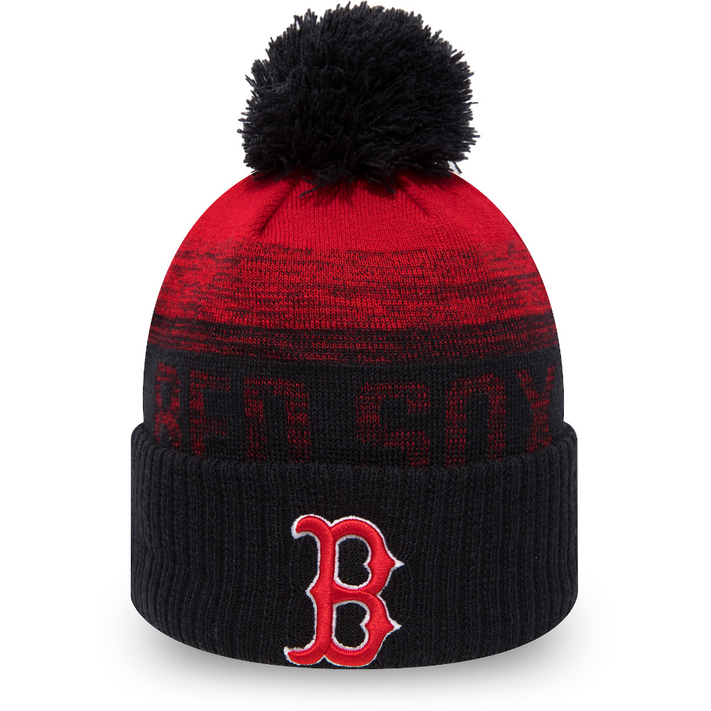 Boston Red Sox Navy Ombre Bobble Knit