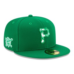 Pittsburgh Pirates Green Batting Practice St Patricks 59FIFTY Cap