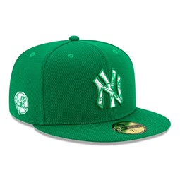 New York Yankees Batting Practice St Patricks Green 59FIFTY Cap