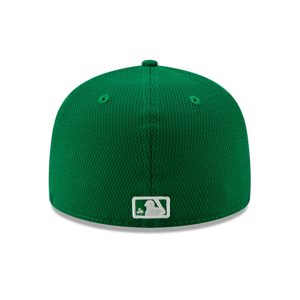 Casquette 59FIFTY Batting Practice St Patricks verte des Tigers de Détroit