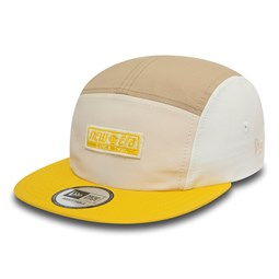 New Era Colour Block Yellow Camper