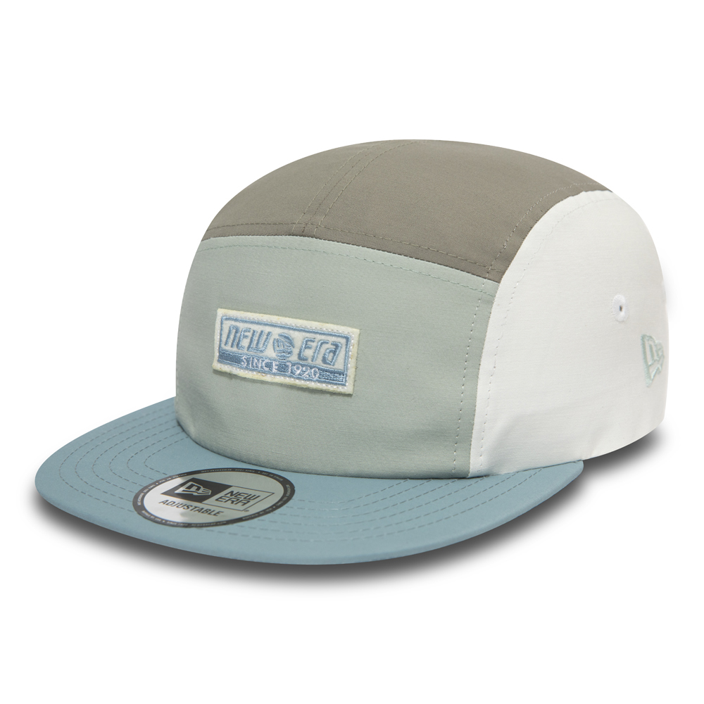 NEW ERA – Camperkappe in Blau im Blockfarben-Design