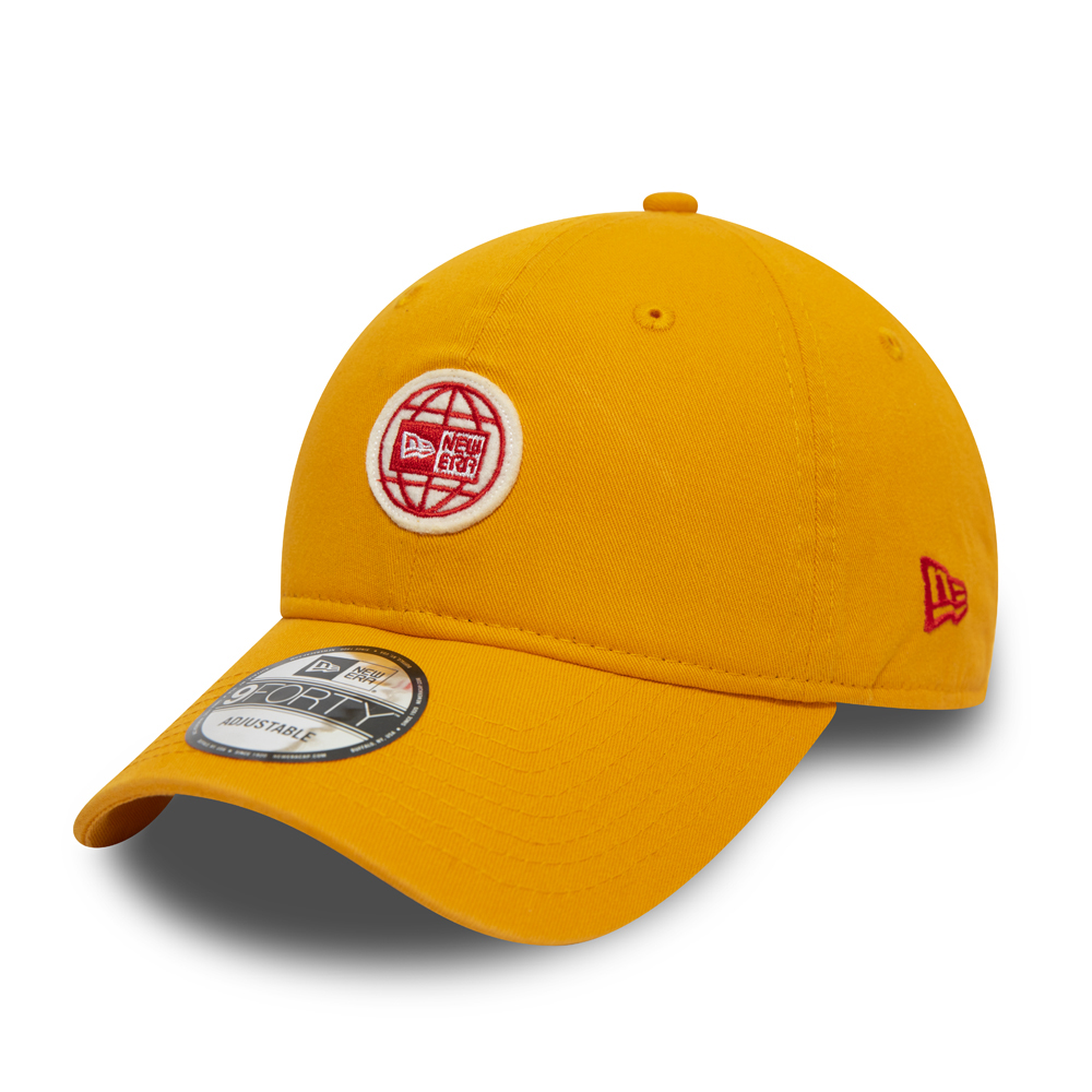 Casquette New Era 9FORTY Department, jaune