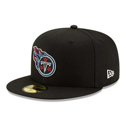 Tennessee Titans NFL20 Draft Black 59FIFTY Cap