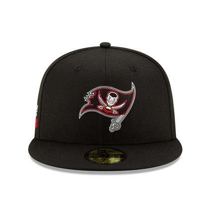 Tampa Bay Buccaneers NFL20 Draft Black 59FIFTY Cap