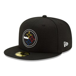 Casquette NFL20 Draft Black 59FIFTY des Steelers de Pittsburgh