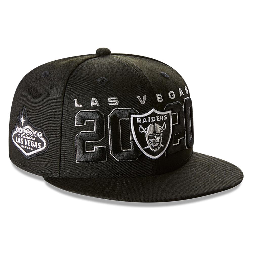 Las Vegas Raiders NFL20 Draft 59FIFTY-Kappe in Schwarz