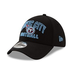 Tennessee Titans NFL20 Draft Black 39THIRTY Cap