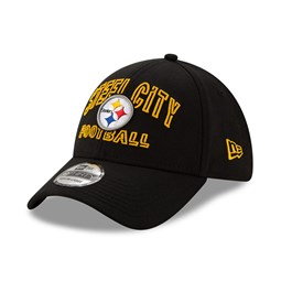 Casquette NFL20 Draft Black 39THIRTY des Steelers de Pittsburgh